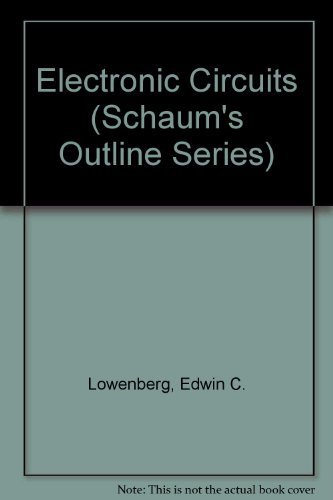 Electronic Circuits (Schaum's Outline Series) PDF
