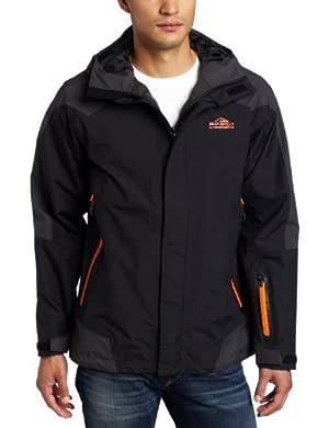 (超值)Bear Grylls Men's Mountain Jacket 贝尔格里尔斯 野外求生男式黑色外套 $105