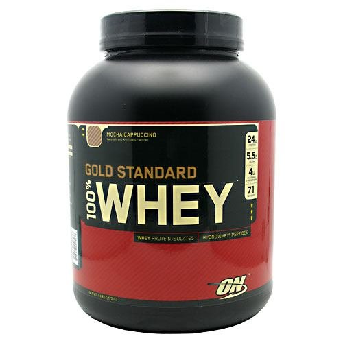 100% Whey Protein, Mocha Cappuccino, 5 lbs, From Optimum Nutrition