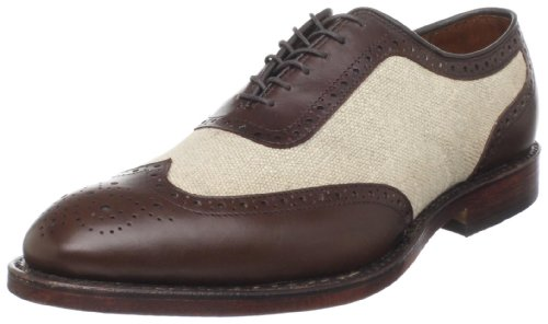 Allen Edmonds Men's Strawfut Oxford,Brown/Line,7.5 D US