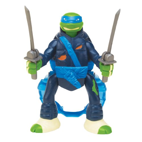 Teenage Mutant Ninja Turtles Throw N Battle Leonardo Figure - 1