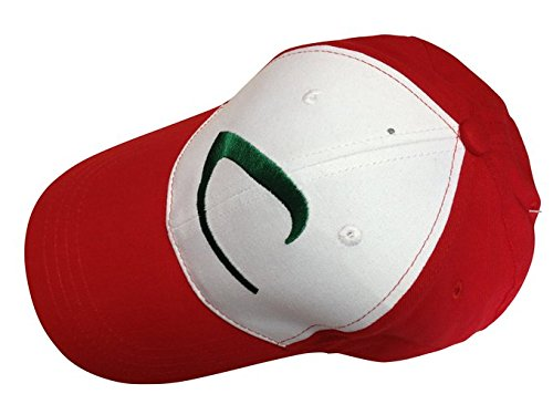 Pokemon-Ash-Ketchum-Baseball-Snapback-Cap-Trainer-Hat-for-Adult-Embroidered