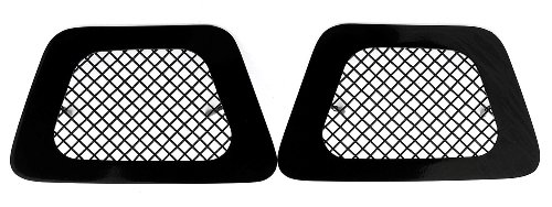 TRex Grilles 52051 Upper Class Small Mesh Steel Black Finish Bumper Grille Overlay for Chevrolet Tahoe Suburban Avalanche