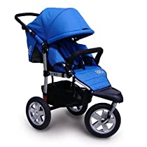 City X3 Swivel Stroller Color: Orange