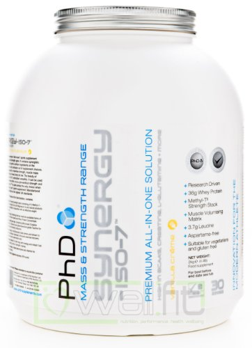 PhD Synergy-ISO-7 Vanilla Flavoured Protein Powder 2kg