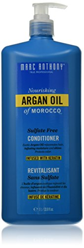 Marc Anthony Argan Oil of Morocco Shampoo and Conditioner Set 1 Liter/each with Pump, Sulfate Free (Morocco Shampoo And Conditioner compare prices)