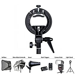 Universal Professional Photography Kit for Portrait or Product Photography: Photo Studio Multifunctional 21x21