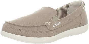 Crocs Womens Walu Canvas Loafer
