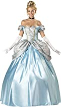 Hot Sale InCharacter Costumes, LLC Women's Enchanting Princess Costume, Blue, X-Large
