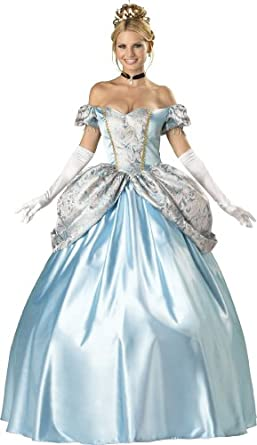 InCharacter Costumes, LLC Women's Enchanting Princess Costume, Blue, Small