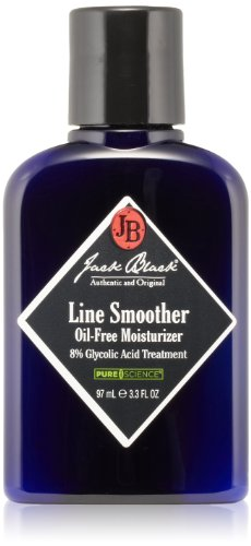 Jack Black Line Smoother Oil-Free Moisturizer 8% Glycolic Acid Treatment