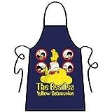 Beatles Apron Yellow Submarine Navy Blue