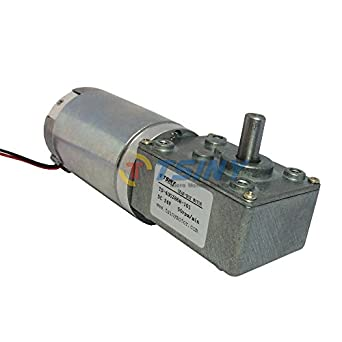 Tsiny 24v 50rpm high torque dc gear box geared electric for Best dc motors for robots