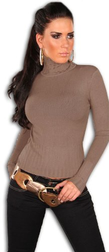 instyle-top-a-manches-longues-uni-col-roule-manches-longues-femme-beige-beige-cappuccino-taille-uniq