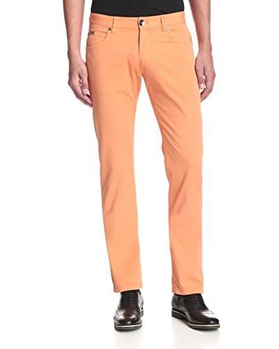 Armani Collezioni Men's Slim Fit Twill Pant