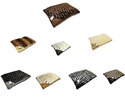 Luxury LARGE & Extra Large Luxury Fur Dog Bed Cushion Washable Zipped Mattress