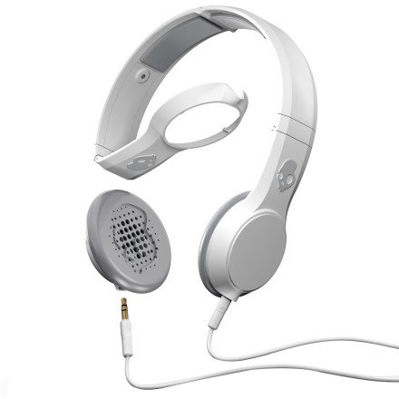 Skullcandy Cassette Headphones w/Mic (White)