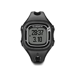 Garmin Forerunner 10 GPS Watch (Black Sliver) by Garmin