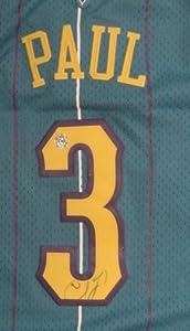 Chris Paul New Orleans Hornets Autographed #3 Jersey by Sports-Autographs