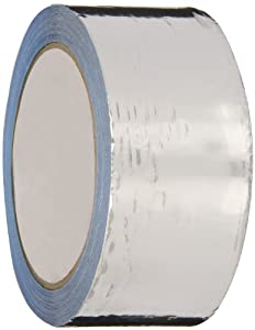 Nashua Aluminum Waterproofing Repair Foil Tape, 11 mil Thick, 10 m Length, 48 mm Width