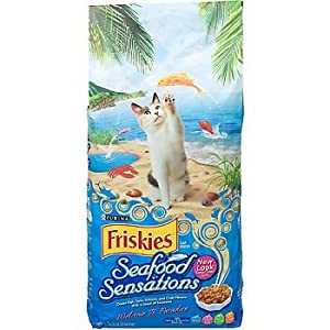 Buy purina friskies seafood sensations cat food dottie for Friskies cat fishing