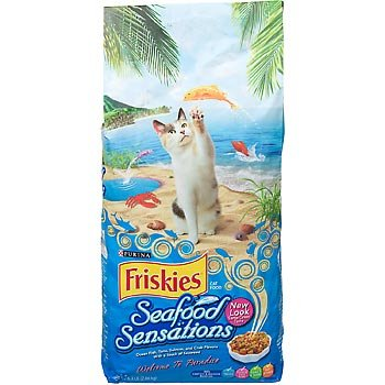 Image of Purina Friskies Seafood Sensations Cat Food