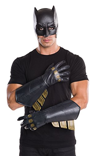 Rubie' s ufficiale Batman Guanti Guanti costume accessori adulti Dawn di giustizia