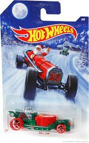 HOT WHEELS HOLIDAY HOT RODS 2014 SERIES HOT TUB DIE-CAST - 1