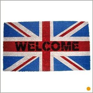 tapis de londres ou avec le drapeau anglais deco londres. Black Bedroom Furniture Sets. Home Design Ideas