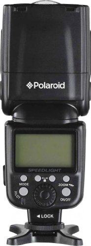 Polaroid PL-190N GN54 Wireless TTL Auto Power Zoom Bounce & Swivel Flash With LCD Display For The Nikon D5300, D5000, D3000, D3200, D3300, D5100, D5200, D3100, D7000, D7100, D4, D4s, D750, D810, D800, D800E, D600, D610, D40, D40x, D50, D60, D70, D80, D90, D100, D200, D300, D3, D3S, D700, P7800, P7700, P7100 Digital SLR Cameras