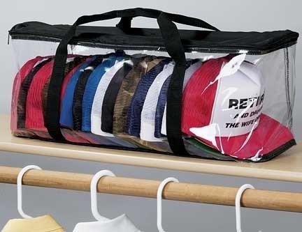 Baseball Cap Hat Storage Bag Zipper Shut Organizer (Caps Storage compare prices)