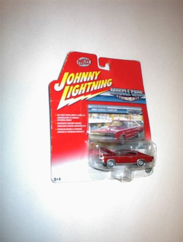 Johnny Lightning Muscle Cars USA RED 1966 DODGE CHARGER