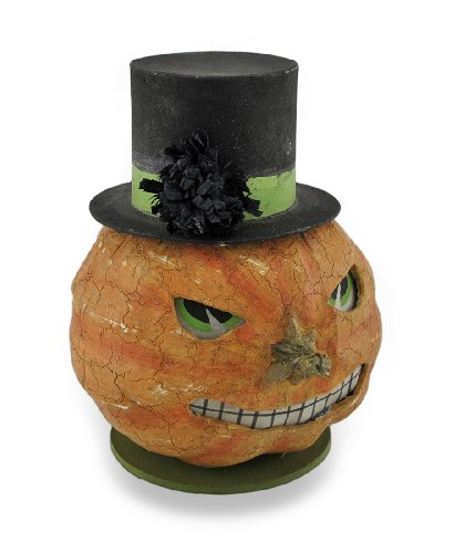 Bethany Lowe Twisted Jack Paper Mache Trinket Box