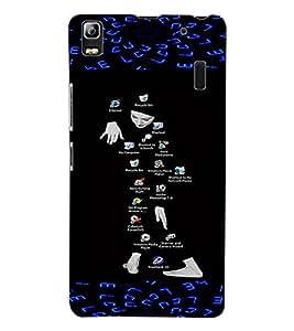 ColourCraft Creative Image Design Back Case Cover for LENOVO A7000
