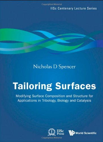Tailoring Surfaces: Modifying Surface Composition And Structure For Applications In Tribology, Biology And Catalysis (Iisc Centenary Lecture)