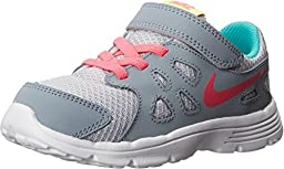Nike Baby Girl\'s Revolution 2 Athletic Shoes (4 M US TODDLER, Grey/Hyper Pink)