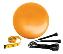 The Biggest Loser Sculpt and Burn Kit - Weighted 4 to 6-Pound Water Ball and Jump Rope