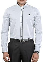 Unkonventional Men's Casual Shirt (unkorisilzzm_Grey_38)