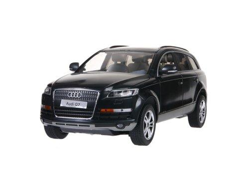 RASTAR 27400 1:14 6 Channel Remote Control Audi Q7 RC Car Simulation Model with Light (Black) + Worldwide free shiping
