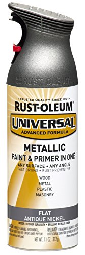 rust-oleum-271474-universal-all-surface-spray-paint-11-ounce-flat-metallic-antique-nickel