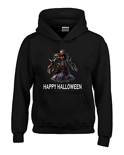 Happy Halloween Scary Skeleton Costume - Kids Hoodie