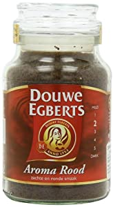 Douwe Egberts Aroma Rood Instant Coffee, 200 gram Jars (Pack of 2) from Douwe Egberts