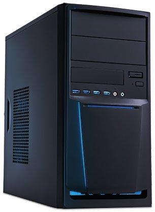 Ankermann-PC.SILENT STAR., AMD FX-4300 4x 3.80GHz, onBoard Graphic DVI – HDMI – VGA Adapter, Windows 7 Professional 64 Bit, 1TB Toshiba HDD, 8 GB RAM, 24x DVD-RW Writer-, Card Reader, Art.Nr.: 31860, EAN: 4260370250498