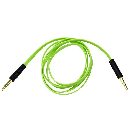 Green 3.5Mm Headphone Jack Audio Replacement Cable Cord Beats By Dr. Dre Studio **Ablegrid Trademarked**