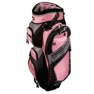 Forgan of St. Andrews CART Golf Bag PINK/Grey
