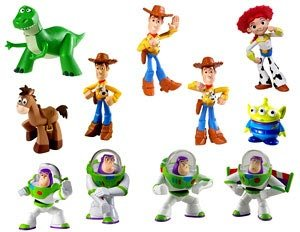 Buy Low Price Mattel Toy Story Action Figures: 24PK Assortment – 24 assorted figures per pack (B0052ZI7Z8)