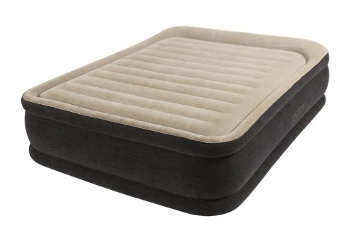 """Intex Premium Comfort Airbed Kit With Dura-Beam Technology, Queen, Bed Height 18"""""""