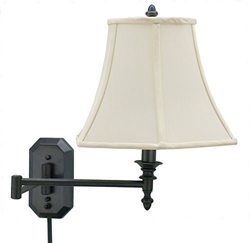 house of troy ws 708 ob 16 inch swing arm wall lamp oil. Black Bedroom Furniture Sets. Home Design Ideas