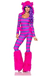 Leg Avenue Women's Cheshire Cat Costume