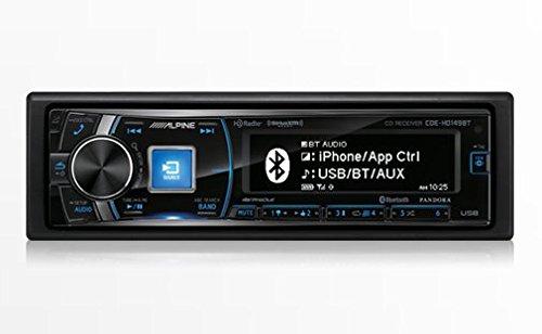 Alpine Single Din Bluetooth Premium LCD Display
